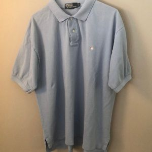 Men's light blue polo by Ralph Lauren